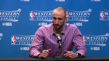 【NBA】Manu Ginobili Postgame Interview Warriors vs Spurs Game 4 May 22 2017 2017 NBA Playoffs