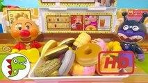 アンパンマン おもちゃアニメ ドーナツを買いに行くよ❤ドーナツ屋さん Toy Kids トイキッズ animation anpanman