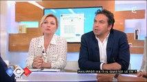 """Florian Philippot s'en prend à Vanessa Burgraff dans """"C à vous"""" - Regardez"""