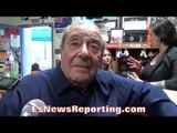 Bob Arum: Mikey Garcia IS PRICING HIMSELF OUT OF Crawford FIGHT; Crawford IS THE A SIDE!!!