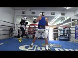 sparring at goossen gym EsNews Boxing