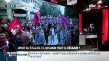 Brunet & Neumann : Emmanuel Macron réussira-t-il sa réforme du code du travail ? - 23/05