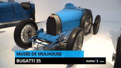Musée de Mulhouse - La Bugatti 35