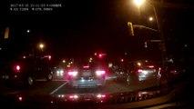 """Cet automobiliste assiste à une arrestation façon """"Film d'action"""" par des flic en civile"""