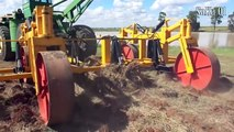 World Modern Farming Agriculture Heavy Equipment Mega Machine - Tractor, Deep Ploughing #HD720p