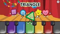 Apprendre formes et les couleurs la musique Voir létablissement enfants des jeux par pour enfants tout petit bébés