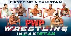 PWE Official SONG -Aj Dangal hai- PRO Wrestling in Pakistan