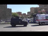 Diyarbakır'da sokağa çıkma yasağı 2'nci gününde / 11 10 2015 / DİYARBAKIR