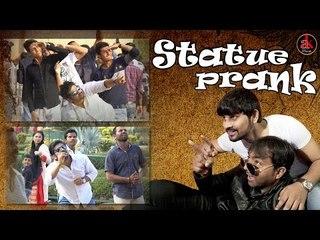 Statue Prank In Public || Statue Prank in India || Ak Pranks || Best Statue Viral Video 2017