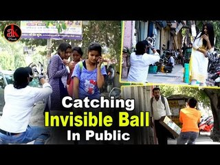 Catching Ball Prank With Hot Girls | Invisble Ball || Best Funny Invisble Ball Prank By Ak Pranks