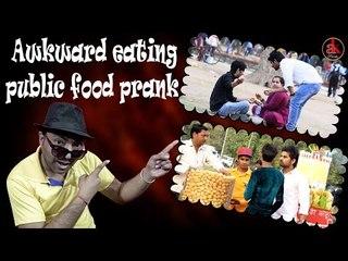 Awkward Eating Public Food Prank || Ak Prank || Viral Prank Video 2017 || Everyone Watch