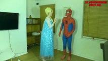 Elsa and Spiderman America Got Talent W_ Peppa Pig and Maleficent-e