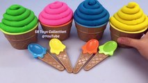 Play Doh Cupcakes Surprise Toys Learn Colors with Playdough Modelling Clay Fun and Creative for Kids-9E5oaBg