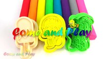 Learn Colors Play Doh Modelling Clay Popsicle Ice Cream Pororo Paw Patrol Microwave Surprise Toys-Uugfm