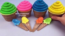 Play Doh Cupcakes Surprise Toys Learn Colors with Playdough Modelling Clay Fun and Creative for Kids-9E5oaB