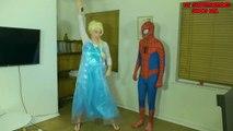 Elsa and Spiderman America Got Talent W_ Peppa Pig and Maleficent-exwWiygum