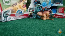 Jurassic World Toys Playskool Heroes Dino Tracker 4X4 & Dinosaur Velociraptor Raptor Figure-9JEbdMbx