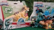 Jurassic World Toys Playskool Heroes Dino Tracker 4X4 & Dinosaur Velociraptor Raptor Figure-9JEbdMb