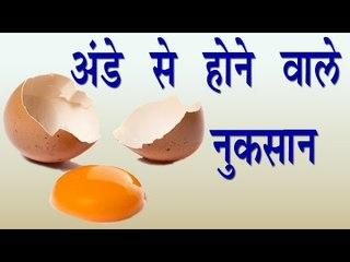 अंडे से होने वाले नुकसान || Side Effects Of Eating Egg || Health Tips By Shristi