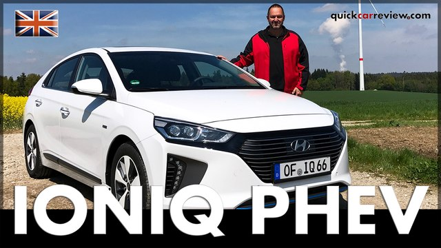Hyundai IONIQ Plug-In Hybrid PHEV 2017 Review & Driving Report | Test | Car | English