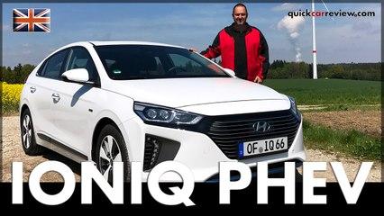 Hyundai IONIQ Plug-In Hybrid PHEV 2017 Review & Driving Report | Test | Car | English