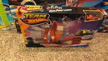 Hot Wheels Double Loop Launch Stunt Set with Launcher and Jump Toy Review-Hhq9obN