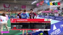 Amazing BADMINTON Women's Double Gold Medal Contest  _  28th Summer Universiade