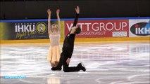 Amazing skating _ Figure Skating Senior Ice Dance Free Dance _  Must watch _