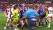 Amazing Ultimate Rugby fight _ Nice one _ Amazing one _ Must watch _