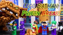 Lego Batman Movie Superman Fights Clayface Arrests Joker with Penguin Catwoman Riddler Rescues Robin-DVri