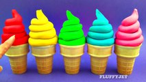 Learn Colors for Kids with Play Doh Ice Cream Cone Surprise Toys Super Mario Bros Inside Out Thomas-s7r
