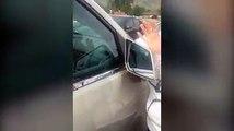 La police doit intervenir pour aider une femme dont la fille s'est endormie dans sa voiture