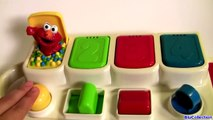 Learn Numbers Colors with Sesame Street Talking Pop Up Pals Elmo Cookie Monster Toy Surprise Eggs-clGHy3