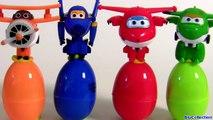 Learn Colors with SUPER WINGS SURPRISE EGGS 출동 슈퍼윙스 ! 디즈니 계란 장난감 서프라이즈 Children Toys-6QxCmiNs