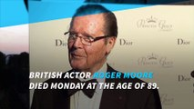 Former James Bond actor Roger Moore dead at 89