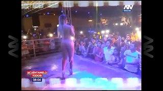 Dorita Orbegoso invita a bailar a joven en discoteca y lo peor viene después