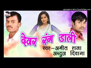 टीसतावे बड़ी ओहि जुगा  -Dever Rang Dali || Amit Raja || Bhojpuri Hot Holi Songs 2017 New