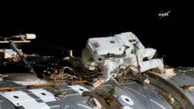 Nasa astronauts leave International Space Station to replace failed computer