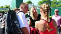 Roland-Garros 2017 (Q) - La famille de Jessika Ponchet, une famille heureuse à Roland-Garros