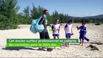 Environnement : des planches de surf en plastique recyclé au Brésil