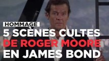 5 scènes cultes de Roger Moore en James Bond