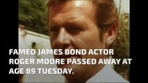 Celebs pay tribute to former James Bond actor Roger Moore