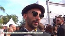 """JR """"On a vécu un moment qu'on oubliera jamais"""" avec Agnès Varda - Festival de Cannes 2017"""