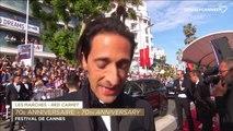 """Adrien Brody """"C'est remarquable de voir tous ces gens talentueux ici"""" - Festival de Cannes 2017"""