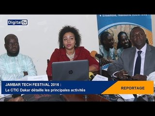 Jambar Tech Festival 2016 : le CTIC Dakar détaille les principales activités