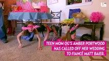 'Teen Mom OG' Stars Amber Portwood and Matt Baier Call Off Wedding