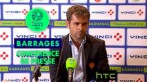 Conférence de presse Paris FC - US Orléans (0-1) :  (PFC) - Didier OLLE-NICOLLE (USO) / 2016-17