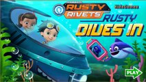 Rusty Rivets In Mission Rusty DIves In Rescue Nickelodeon Jr Games Kids Games Childrens Vi