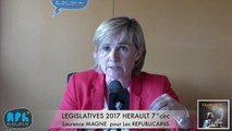 ELECTIONS LEGISLATIVES 2017 - LAURENCE MAGNE- AGDE - SETE - 7° CIRCONSCRIPTION - L'INDECAPANT