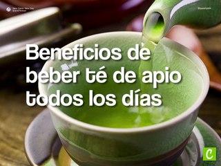 Beneficios de beber té de apio todos los días